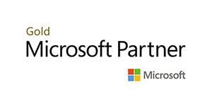 Microsoft Gold Partner logo for Influential Software