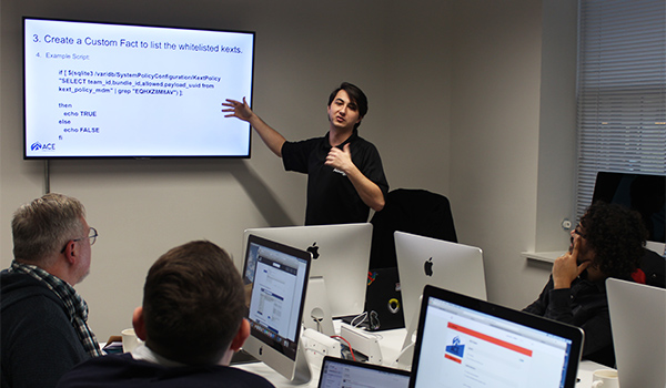 Influential Training classroom for Office 365 training courses