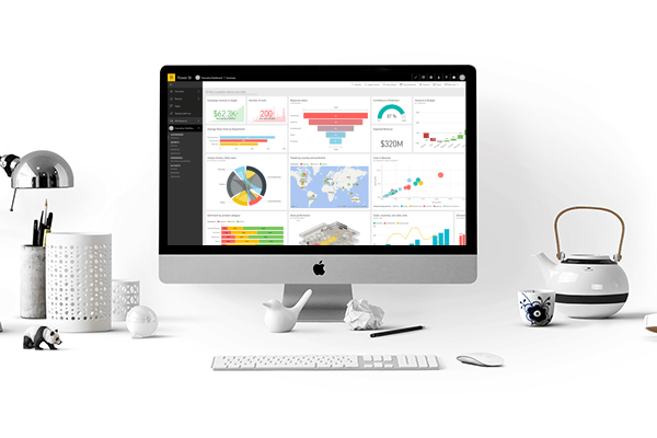 Desktop with screen representing Microsoft Azure certification paths