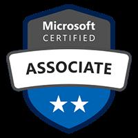Microsoft Certified Associate Badge for Designing an Azure Data Solution