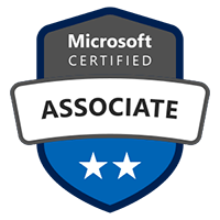 Microsoft Certified Associate Badge for Implementing an Azure Data Solution